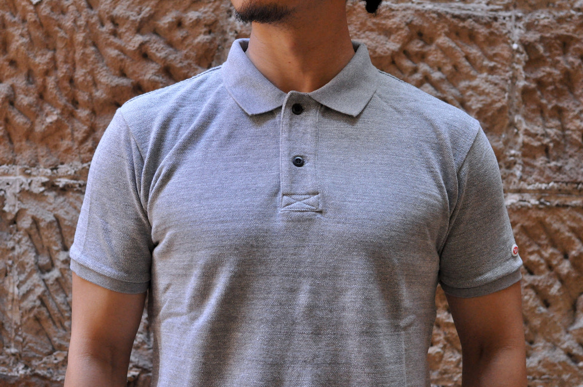 UES 'Konoko' Polo Shirt (Heather Grey)