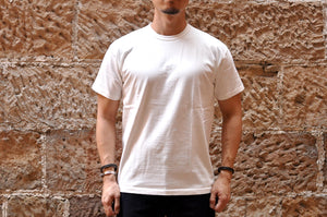 Samurai 6.7oz Loopwheel 'Overseas-Edition' Tee (White)