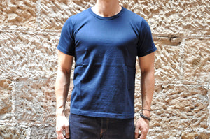 Full Count Medium weight Tubular Tee (Navy)