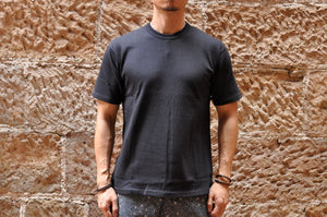 Freewheelers 6.2oz Plain Loopwheel Tee (Dark Navy)