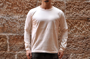 Full Count X Corlection L/S Tubular Tee (Ivory)