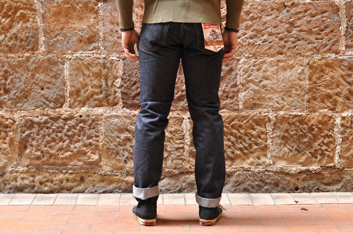 Lewis Leathers 15oz Indigo Denim (Relaxed Tapered Fit)