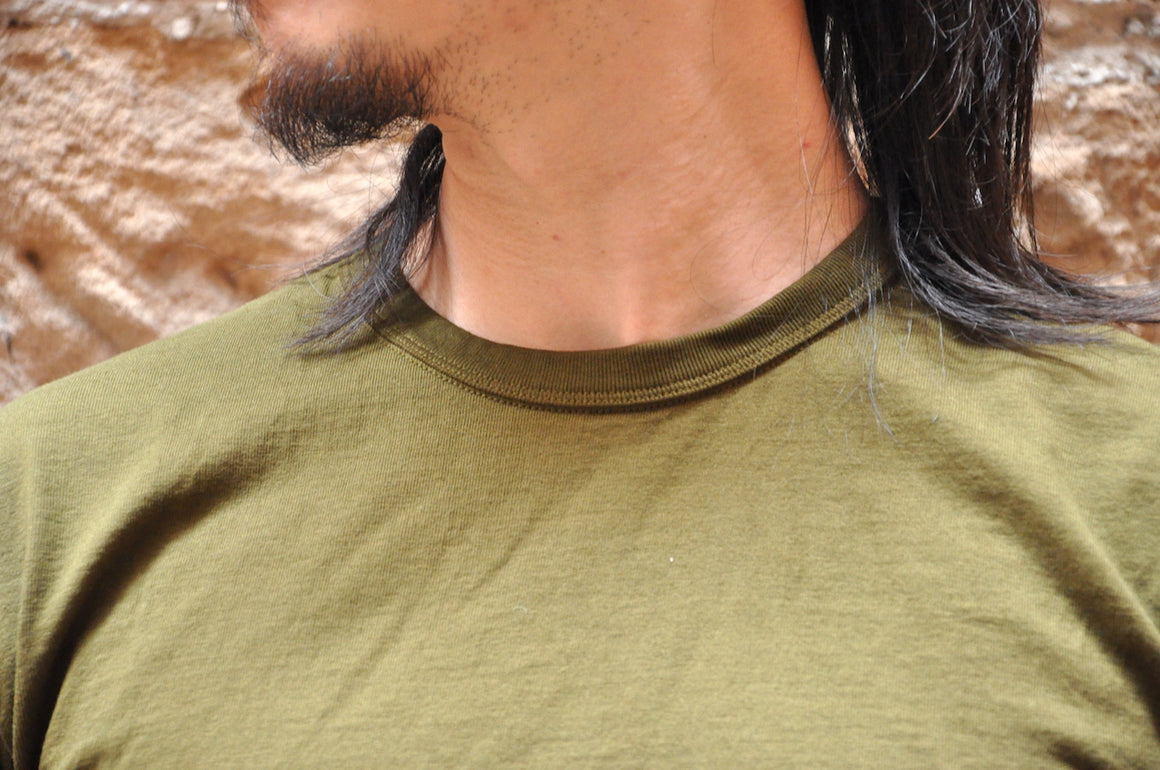 The Strike Gold X CORLECTION 7oz Loopwheeled Tee (Olive)