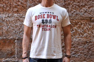 Warehouse 'Rose Bowl' Tubular Tee (Natural)