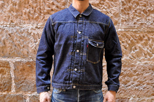 Full Count 13.7oz 'T-Back' Type 1 Denim Jacket