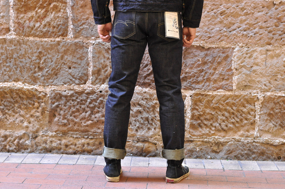 "Studio D'Artisan 14oz ""New leaves"" Denims (Relax Tapered Fit)"