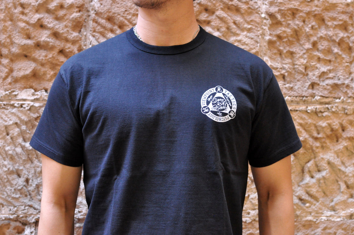 "Samurai 6.7oz ""Three Aspects"" Loopwheel Tee (Black)"
