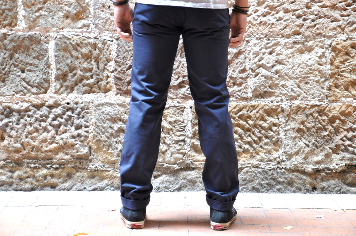 Stevenson Overall Hilts chinos (Navy)