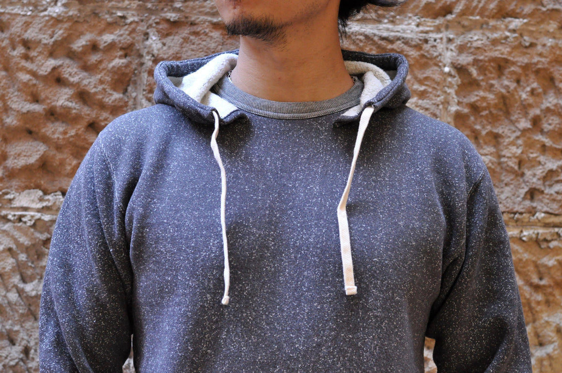 "Full Count 12oz ""Blizzard"" Loopwheeled Pull Over (Heather Charcoal)"