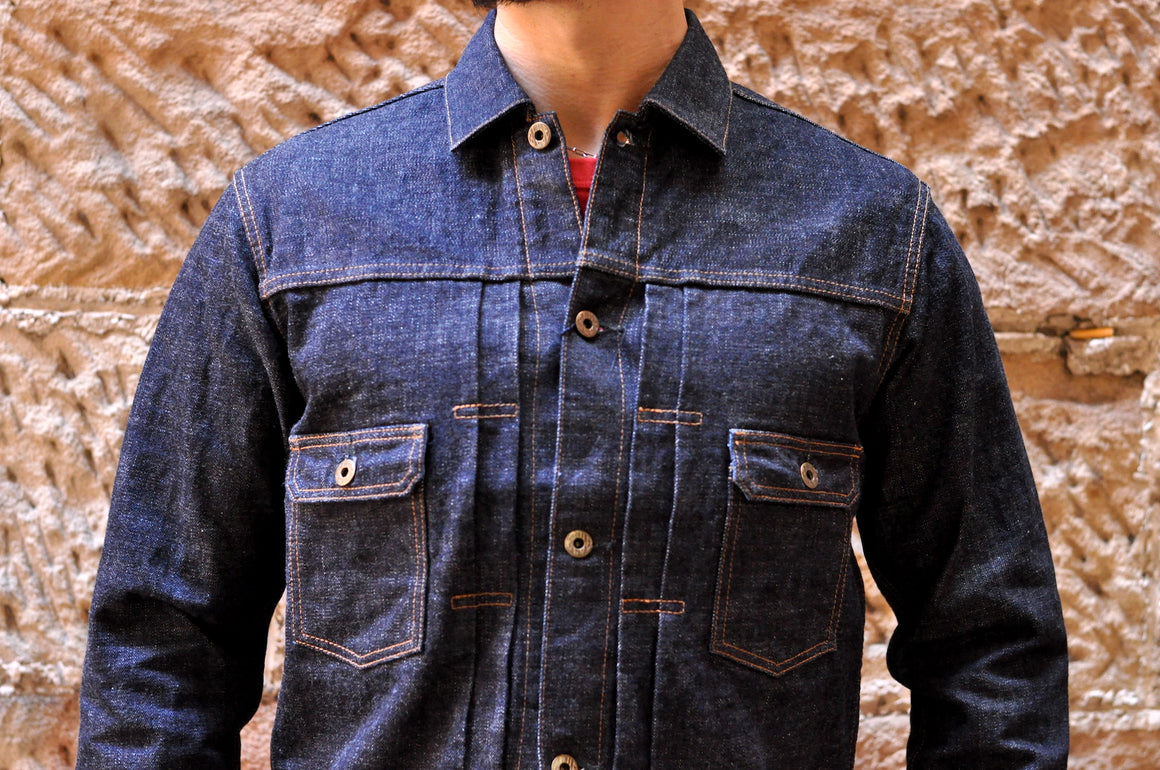 Japan Blue Côte d'Ivoire 16.5oz Type 2 Denim Jacket