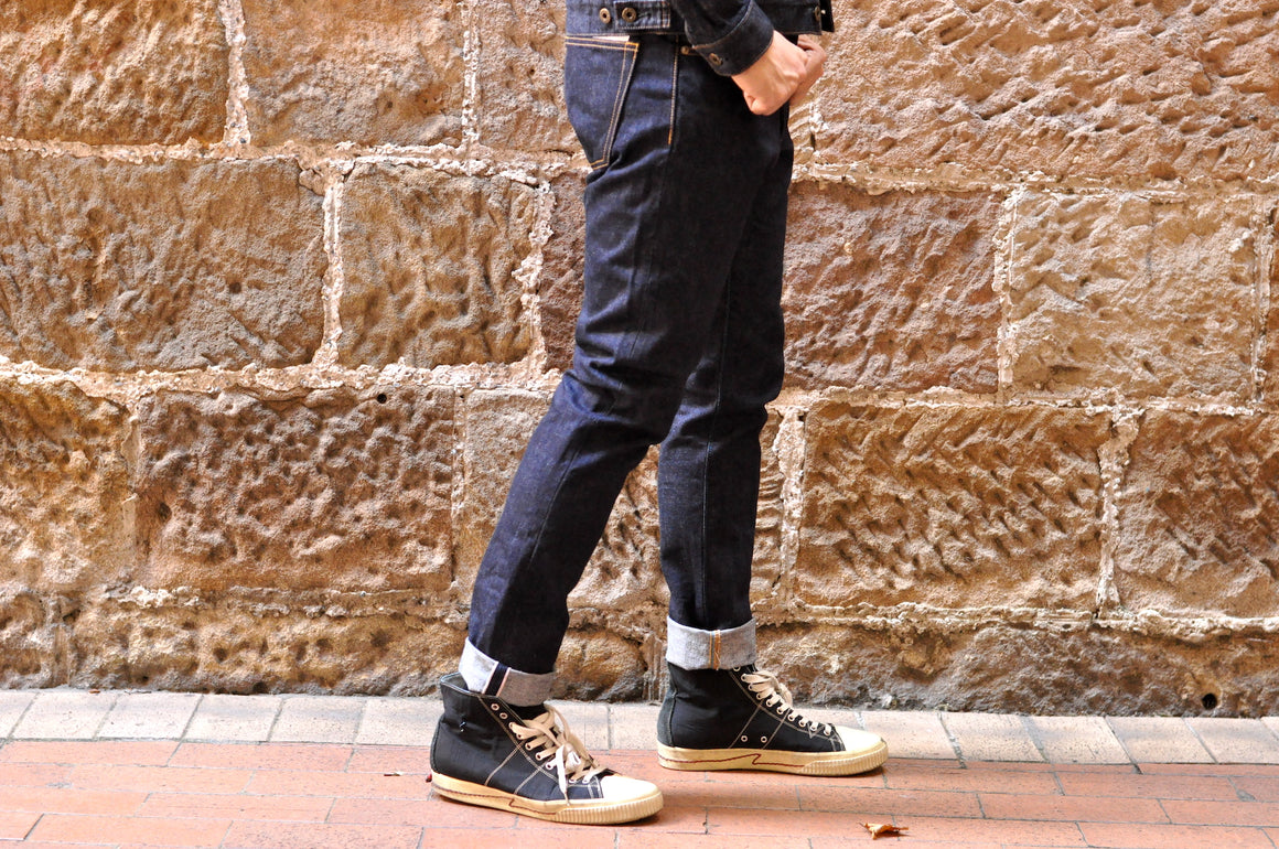 Japan Blue J201 'Circle' 14.8oz Denim (Slim Tapered Fit)
