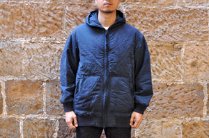 Blue Blue Japan Irregular Indigo Winter Parka