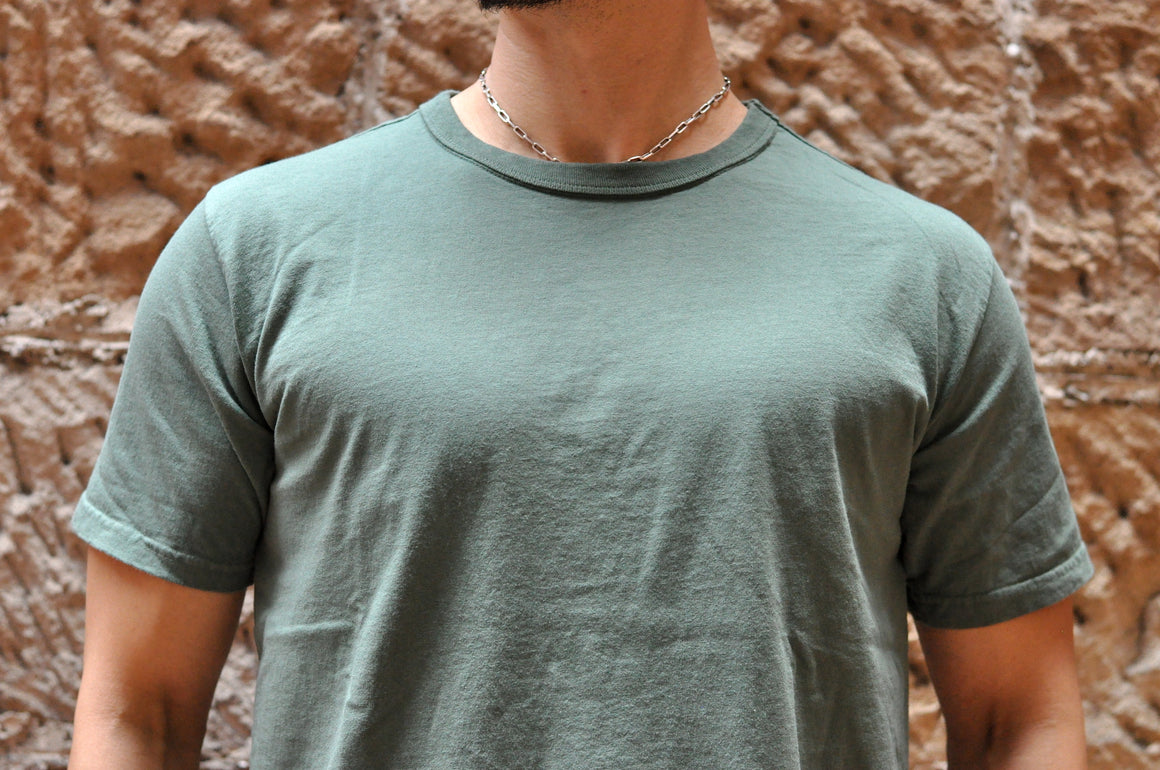 Studio D'Artisan 6oz 'USA Cotton' Loopwheeled Tee '21 Version (Green)