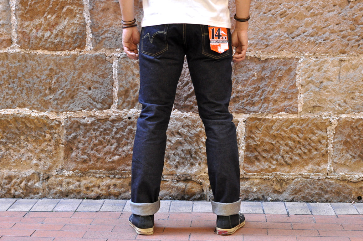 Iron Heart 555S-142 14oz Denim (Slim Tapered Fit)