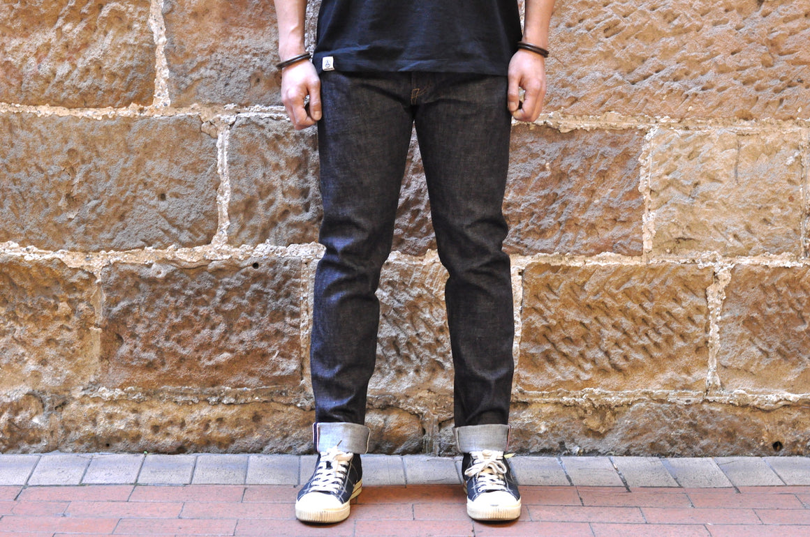 "Momotaro X CORLECTION 14.7oz ""ONI-ISLAND"" 666SL Denims (Slim Tapered Fit)"
