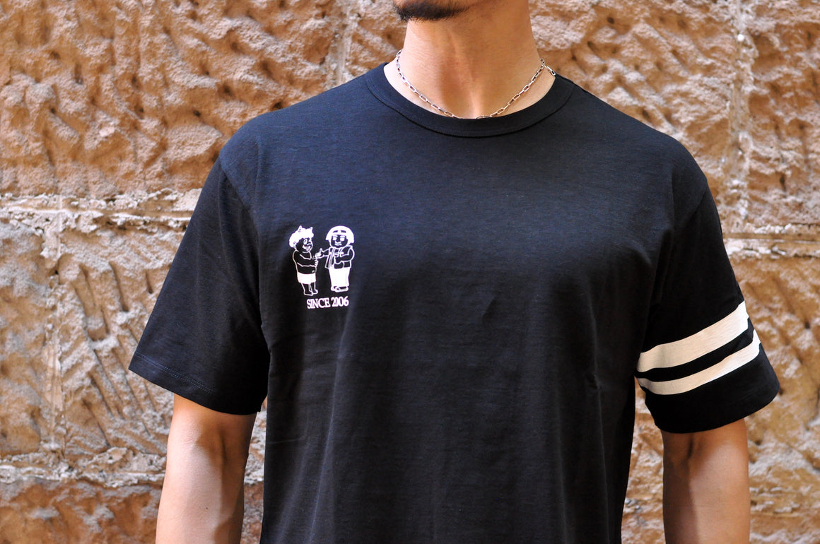 Momotaro 7oz 'Battle of Onigashima' Tubular Tees (Black)
