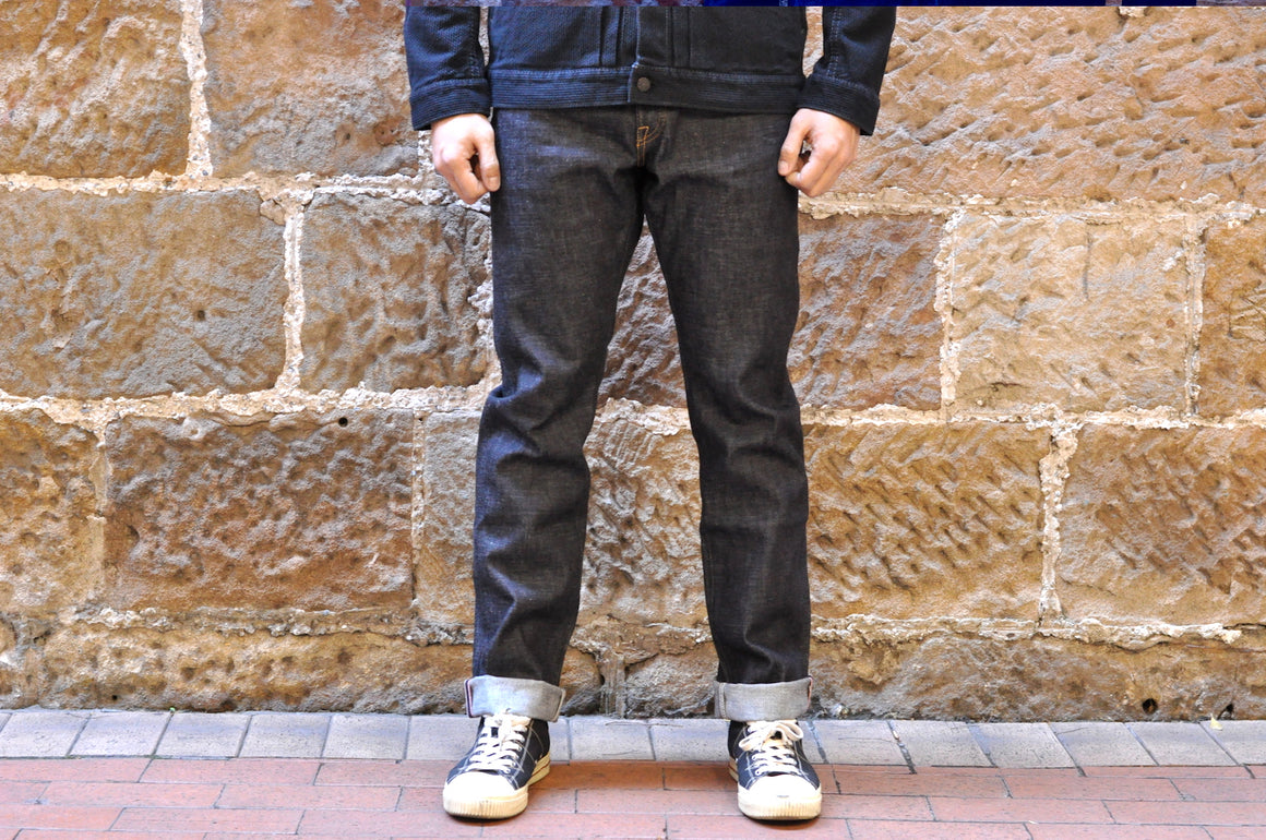 "Momotaro X CORLECTION 14.7oz  ""ONI-ISLAND""  666ST Denims (Straight Tapered Fit)"