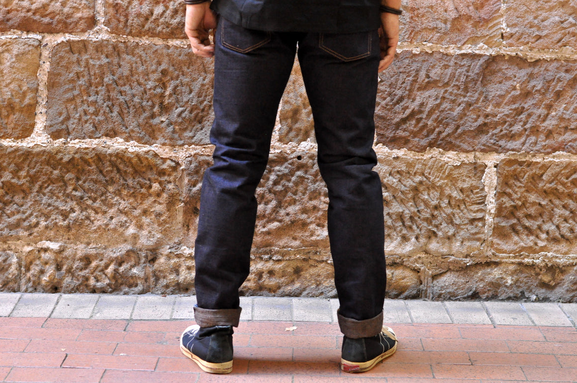 Pure Blue Japan OG-013 14oz Denim (Slim Tapered Fit)