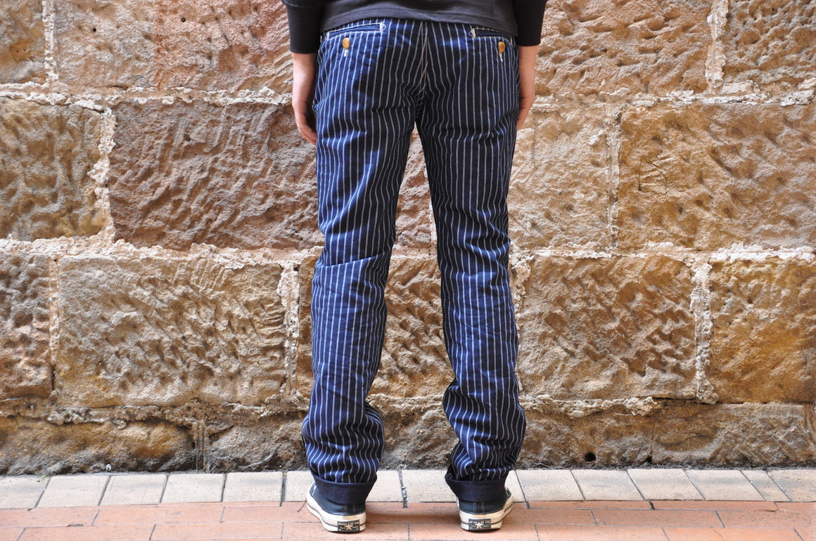 Studio D'Artisan Double Wabash Chinos (Straight Tapered fit)