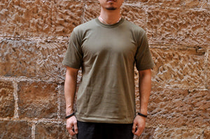 Ultimate Thule by Freewheelers Heavyweight Tactical Tee (Olive)