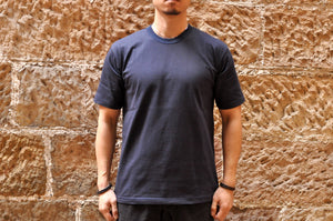 Ultimate Thule by Freewheelers Heavyweight Tactical Tee (Navy)