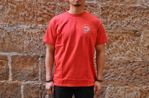 "Samurai 6.7oz ""Rebirth"" Loopwheel Tee (Red)"