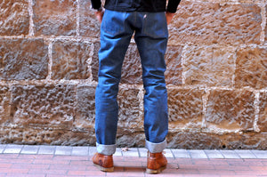 The Flat Head 7oz Loopwheel Tee '20 Version (Black)