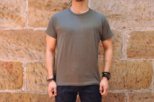 Samurai 5oz Super Slow Loopwheeled Tee (Special Run)(Olive)