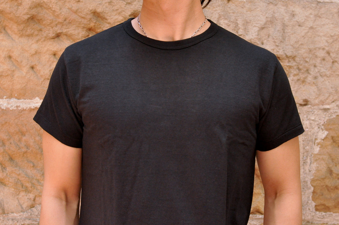 Samurai 5oz Super Slow Loopwheeled Tee (Special Run)(Black)