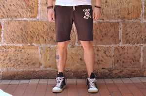 Dubble Works 'First mate' Sweat Shorts (Ink)