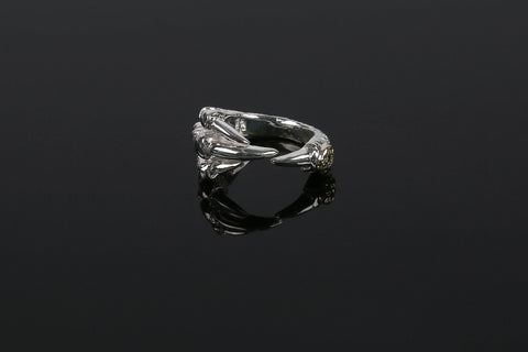 First Arrow's 'Eagle Claw' Ring With 18K Gold Emblem