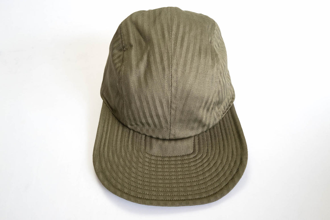 Warehouse 10oz USN Olive HBT Flight Cap