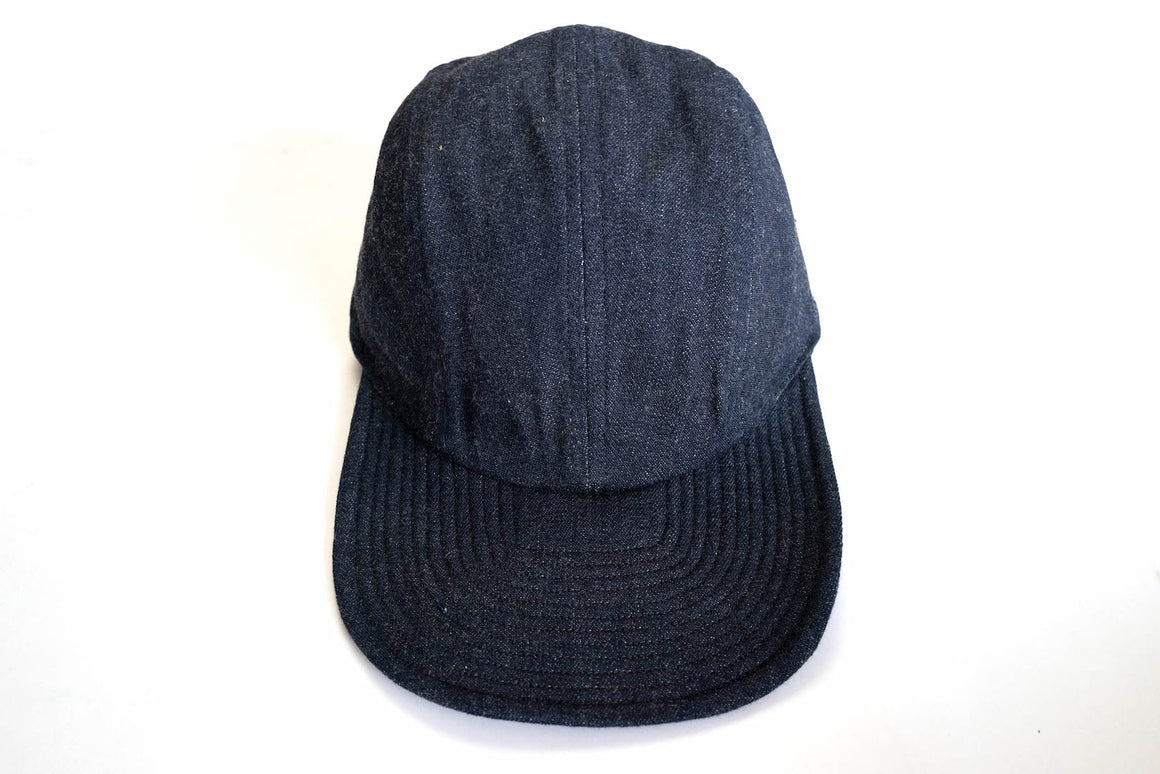 Warehouse 11oz USN Nep Denim Flight Cap