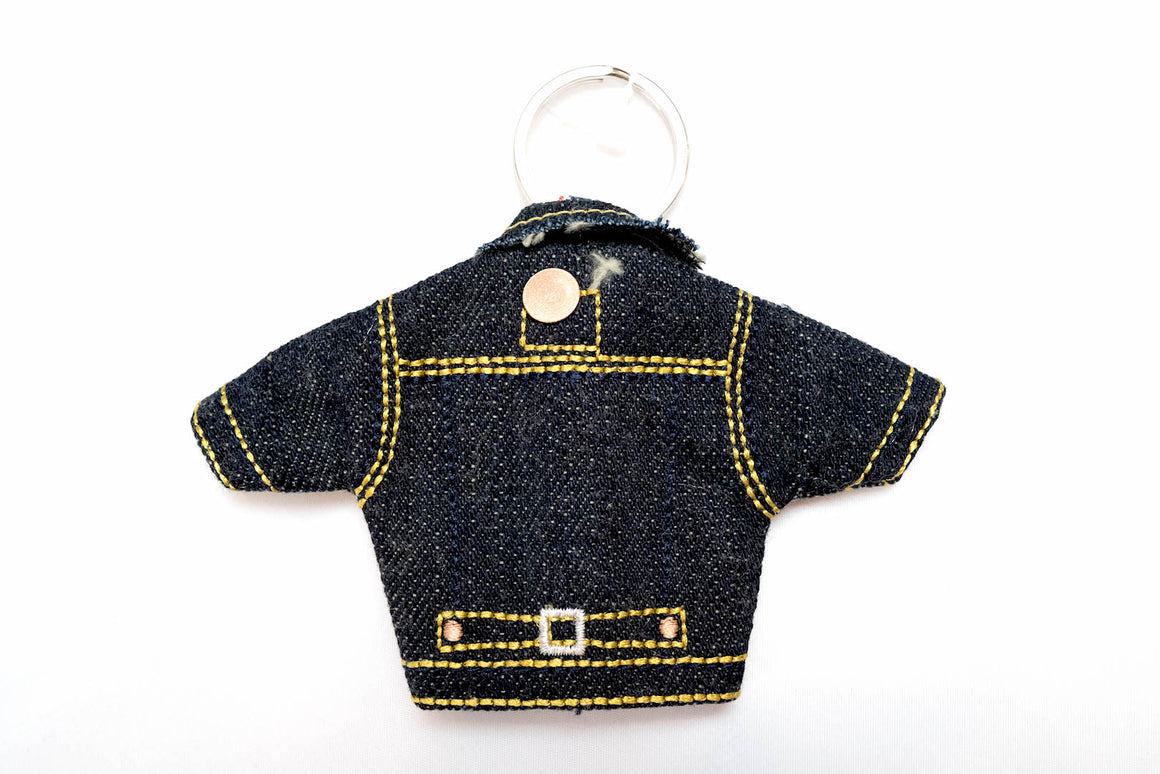 Studio D'Artisan Mini Type-1 Denim Jacket Key Holder