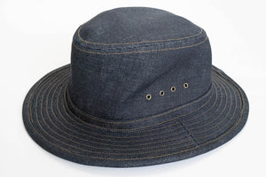 "Freewheelers 14oz ""Smokey Bear"" Denim Hat"