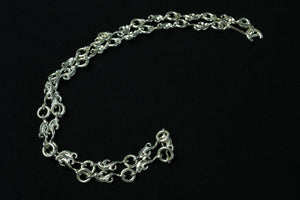 "First Arrow's Customised ""Ultimate Luxe"" Arabesque Silver Chain (P-023)"