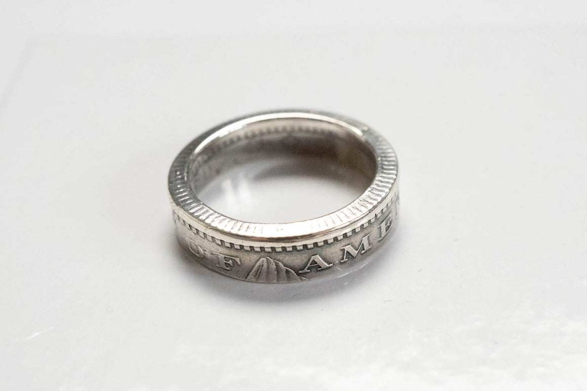 Orgueil 'Morgan' Coin Silver Ring