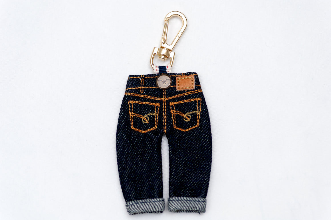 Japan Blue 'Mini Jeans' Key Holder