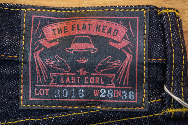 "The Flat Head X CORLECTION ""Last CORL"" 2016 Denims (Super Slim Tapered fit)"