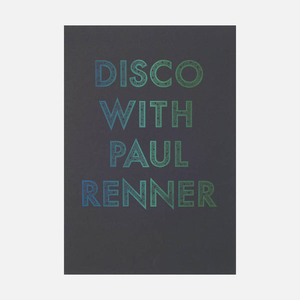 Disco with Paul Renner