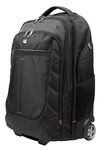 Attis wheeled 17 inch laptop backpack
