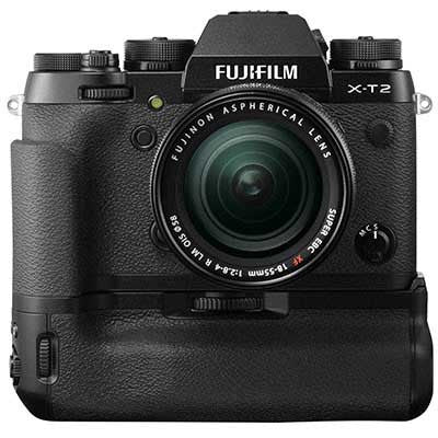 Fuji X-T2 Digital Camera with 18-55mm Lens and Power Booster Grip - Campkins - 1