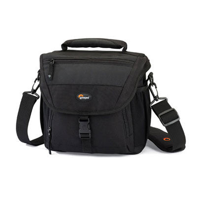 Lowepro Nova 170 AW Shoulder Bag - Black - Campkins - 1