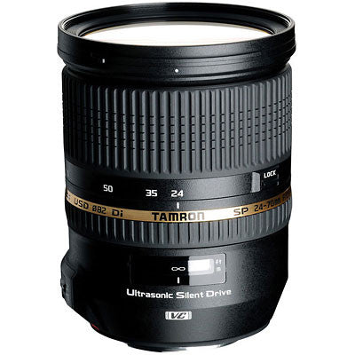 Tamron 24-70mm f2.8 Di VC USD SP Lens - Campkins