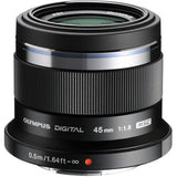 Olympus 45mm f/1.8 Micro Four Thirds Lens - Campkins - 1