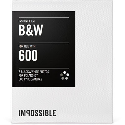 Impossible Project B+W Film For 600 - Campkins
