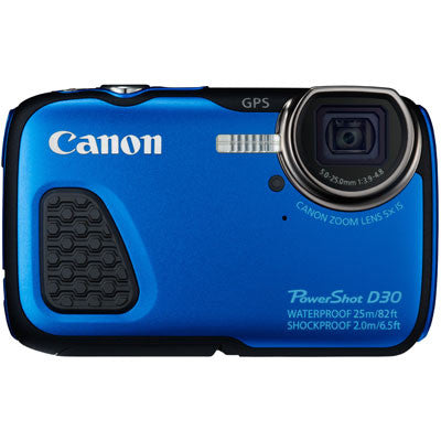 Canon PowerShot D30 Digital Camera - Campkins - 1