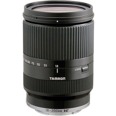 Tamron 18-200mm f3.5-6.3 Di-III VC Black Lens - Canon M-Mount Fit - Campkins - 1