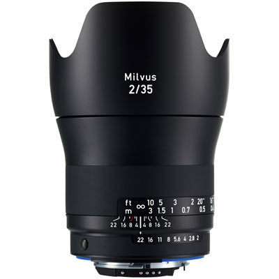Zeiss 35mm f2 Milvus ZE Lens