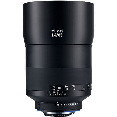 Zeiss 85mm f1.4 Milvus ZE Lens